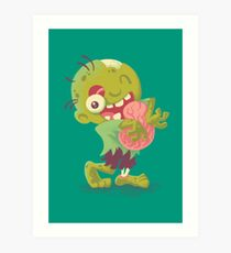 Abrazos de zombies Lámina artística