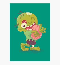 Zombie Hugs Photographic Print