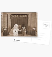 Just Married  Postcards