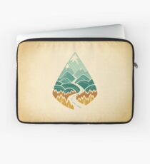 The Road Goes Ever On: Autumn Laptop Sleeve