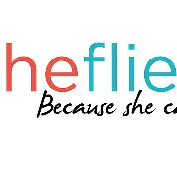She Flies text only by SheFlies