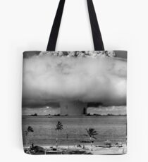 Nuclear Weapon Test - Bikini Atoll  Tote Bag