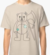 Teddy with Axe Classic T-Shirt