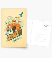 Wissenschaft!!! Es weiß was! Postkarten