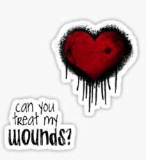 wounds Sticker