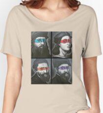 NINJA TURTLES RENAISSANCE Women's Relaxed Fit T-Shirt