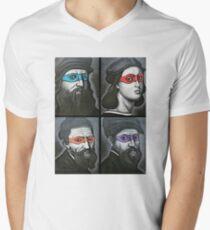 NINJA TURTLES RENAISSANCE Men's V-Neck T-Shirt