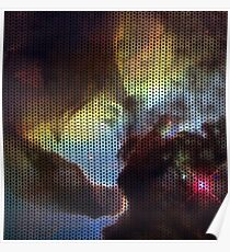 Knitted Lagoon Nebula Poster