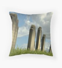 What lies beneath Throw Pillow