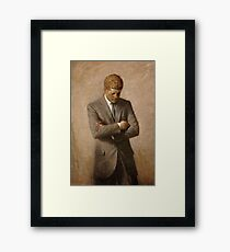 John F. Kennedy Painting  Framed Print