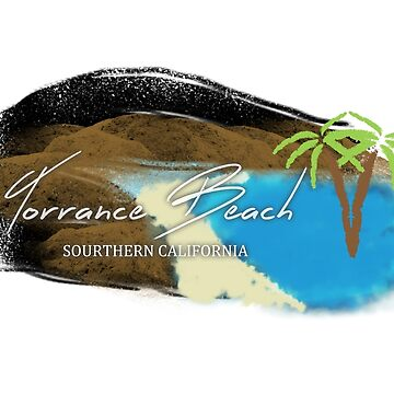 Torrance Beach Sticker, IPhone Case, T-shirt, and more by Kgphotographics