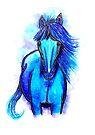 Free Spirit - Horse by Linda Callaghan