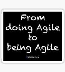 Agile sticker Sticker