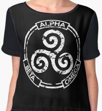 Alpha Beta Omega - Teen Wolf Chiffon Top