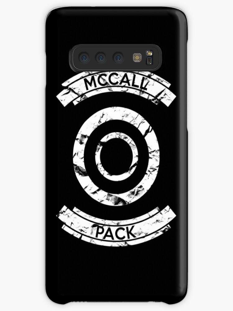 Teen Wolf Scott McCall Pack Stiles iphone case