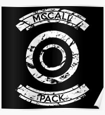 McCall Pack - Teen Wolf Poster