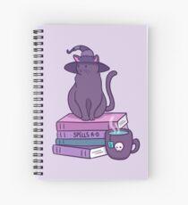 Feline Familiar Spiral Notebook