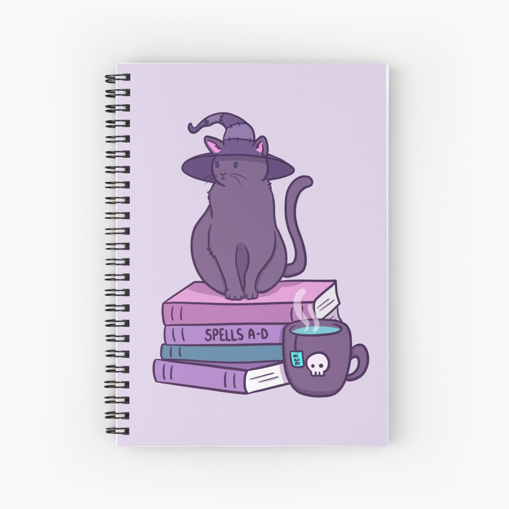 Feline Familiar Spiral Notebook