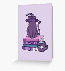Feline Familiar Greeting Card