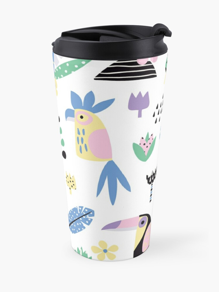 Alternate view of Tropical summer Travel Mug