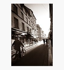Rue Mouffetard Photographic Print