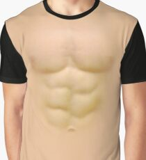 T-shirt with Male Torso Graphic T-Shirt