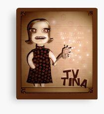 TV Tina Canvas Print
