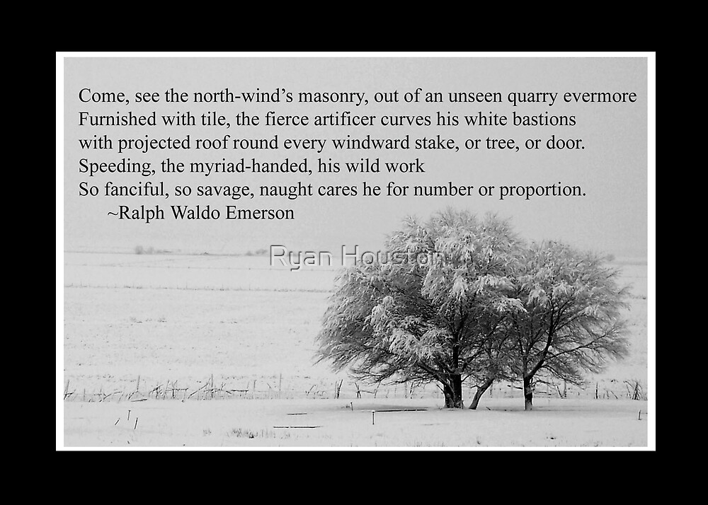 Winter Poem by Ryan Houston