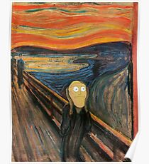 Rick and Morty The Scream Poster
