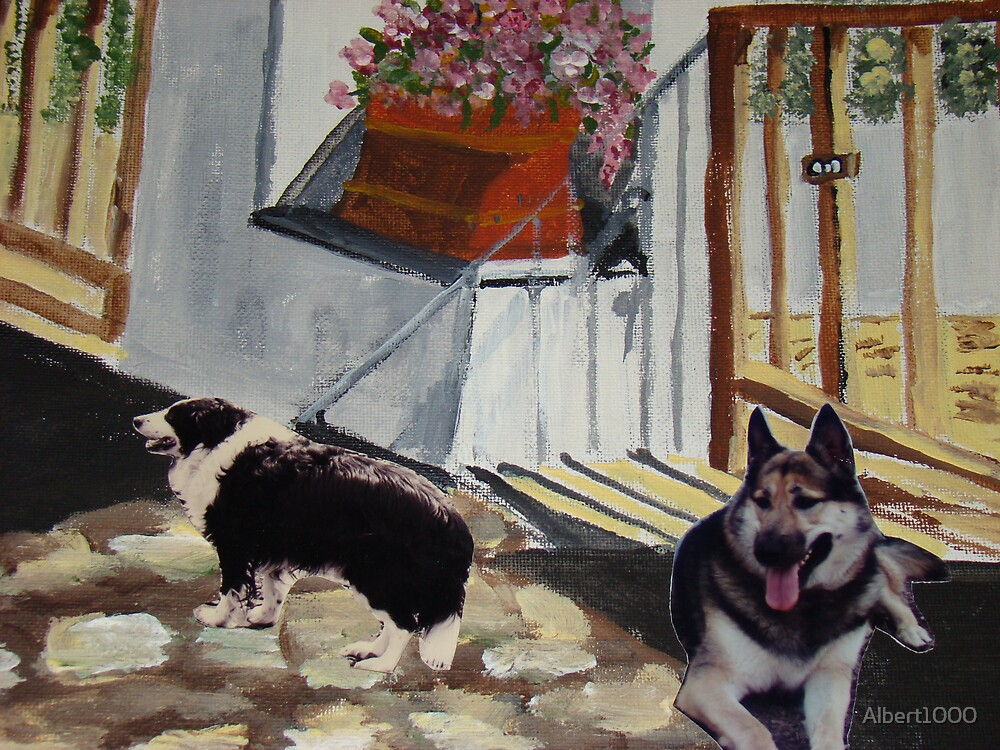 My dogs past by Albert1000
