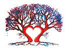 Loveheart Tree by Linda Callaghan