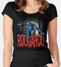 ROUGAROU Women's Fitted Scoop T-Shirt