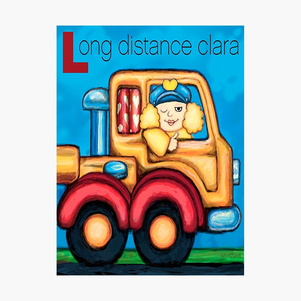Long Distance Clara Photographic Print
