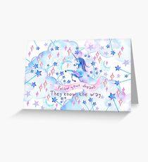 Unicorn Dreams Greeting Card