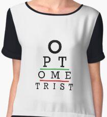 Awesome Optometrist Design - Optometry Optician Gift Women's Chiffon Top