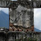 Through The Window, Guatemala by Peter Fletcher