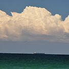 Freighter & Cloud, North Coast, NSW,Australia 2016 by muz2142
