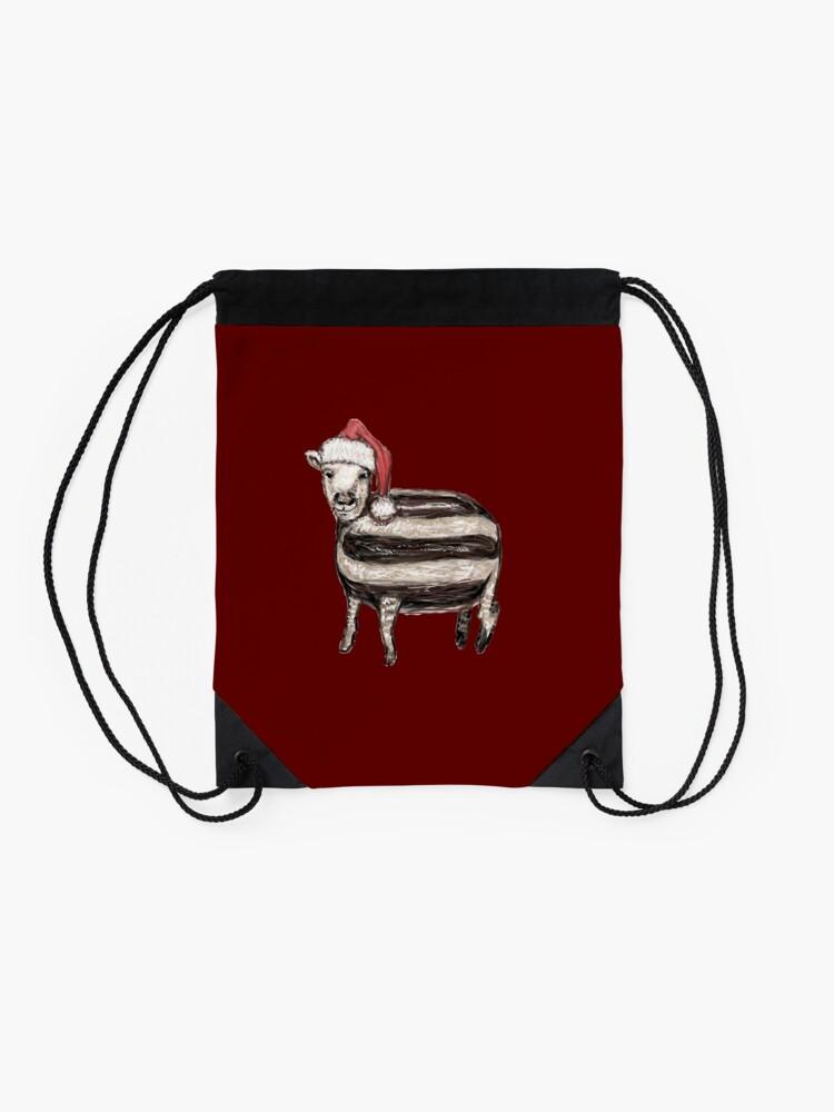 Alternate view of Baa Humbug Drawstring Bag