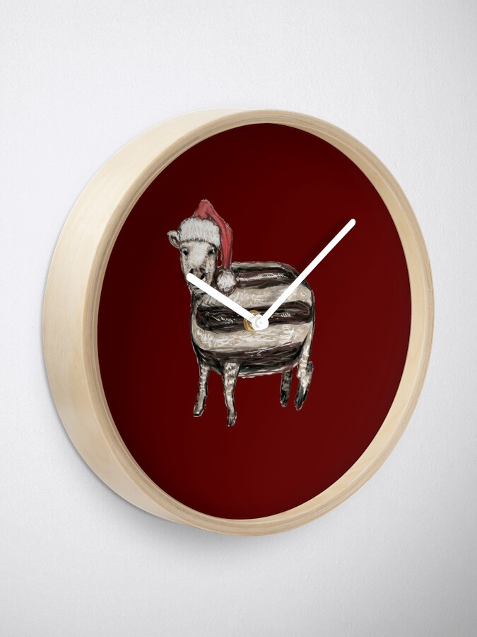 Alternate view of Baa Humbug Clock