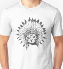 Indian Chief Cat T-Shirt