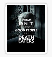 Death Eaters -Draco Malfoy Sticker