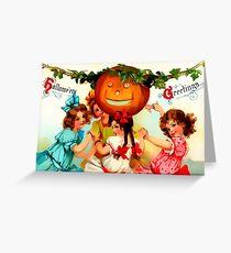 Hallowe'en Greatings Greeting Card