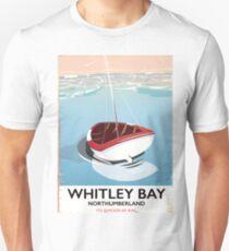 Whitley Bay Northumberland vintage travel poster  Unisex T-Shirt