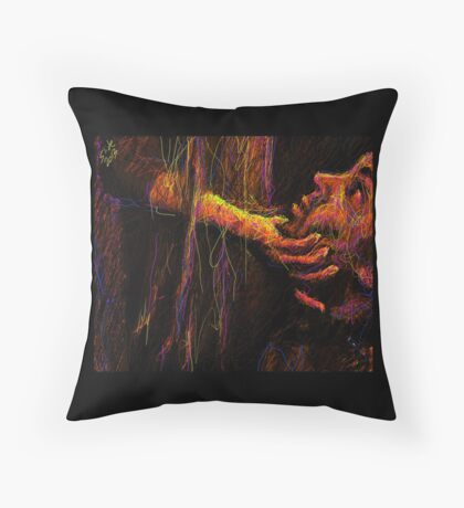 """Beg, 2013"" by Ms Slide Throw Pillow"
