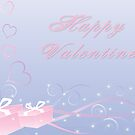 Happy Valentine Card by Leisa  Hennessy