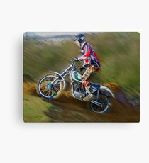 Triangle MCC Boxing Day Trial Canvas Print