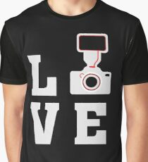 Love Photography - Photographer - Camera  Graphic T-Shirt