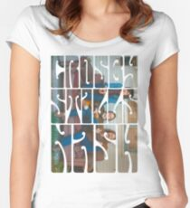 Crosby, Stills and Nash Women's Fitted Scoop T-Shirt