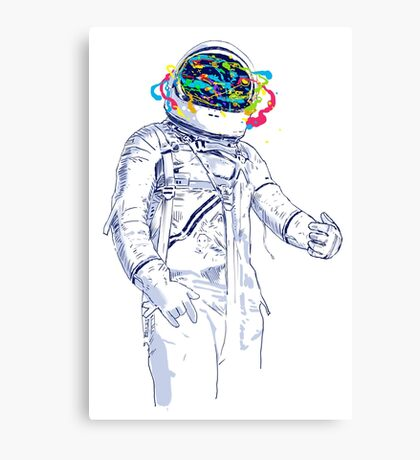 creative space Canvas Print