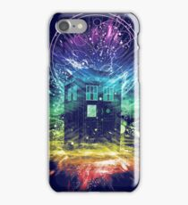 time storm-rainbow version iPhone Case/Skin
